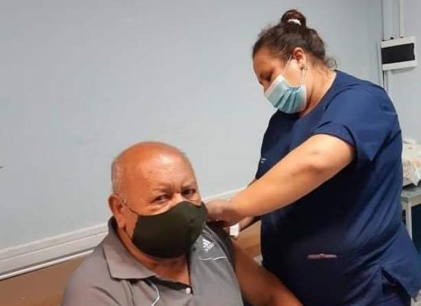Continúa la campaña de vacunación antigripal en los CAPS municipales