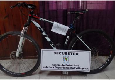 Villaguay secuestro de elementos denuncidos como sustraidos